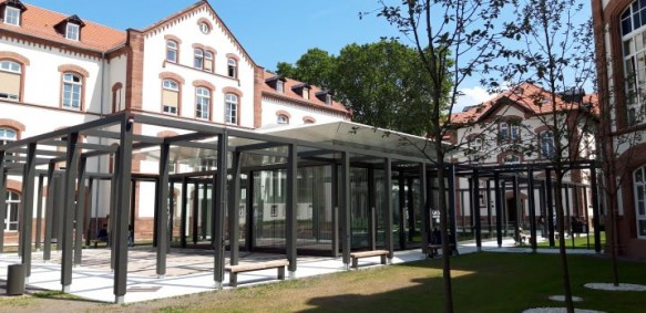 Die neue CATS-Bibliothek In Heidelberg (Foto: Michael Knoche CC BY NC SA)