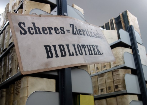 Scheres-Zieritzsche Bibliothek, eine Sondersammlung der Landesbibliothek Coburg