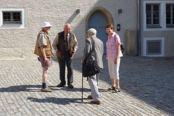 Wulf Kirsten in Klipphausen (Foto: Michael Knoche)