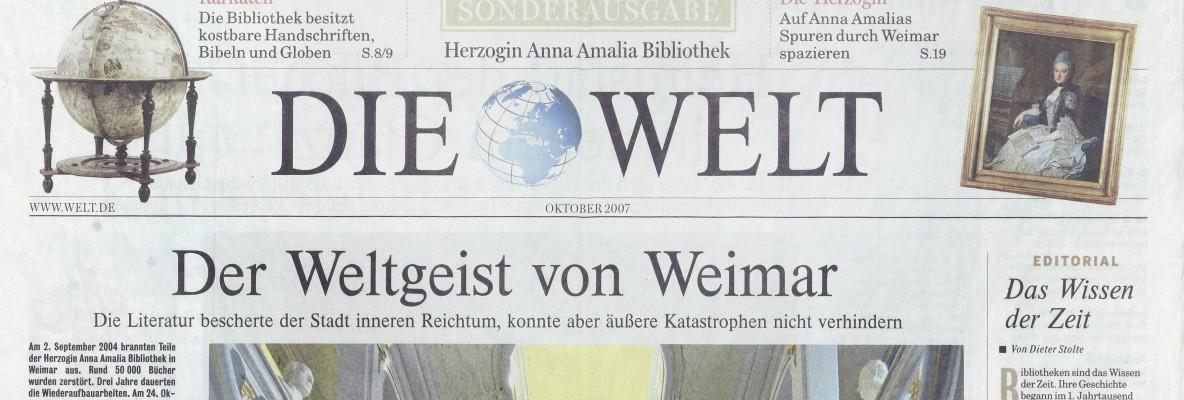 Die Welt Sonderausgabe 2004